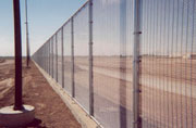 California-Mexico Border Fence