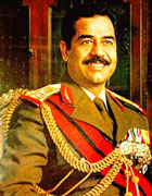 Saddam In Better Days