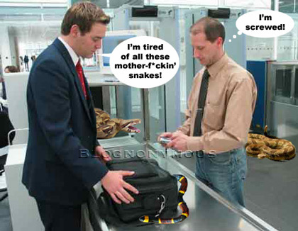 TSA Checks For Snakes